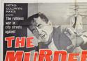 THE MURDER MEN (Top Left) Cinema Quad Movie Poster