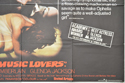 THE MUSIC LOVERS (Bottom Right) Cinema Quad Movie Poster