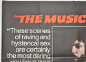 THE MUSIC LOVERS (Top Left) Cinema Quad Movie Poster