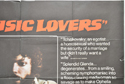 THE MUSIC LOVERS (Top Right) Cinema Quad Movie Poster