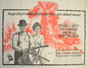 OKLAHOMA CRUDE Cinema Quad Movie Poster