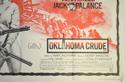 OKLAHOMA CRUDE (Bottom Right) Cinema Quad Movie Poster