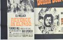 REVENGE IN EL PASO / DIAMONDS FOR BREAKFAST (Bottom Left) Cinema Quad Movie Poster