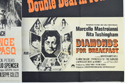 REVENGE IN EL PASO / DIAMONDS FOR BREAKFAST (Bottom Right) Cinema Quad Movie Poster