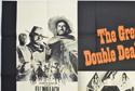 REVENGE IN EL PASO / DIAMONDS FOR BREAKFAST (Top Left) Cinema Quad Movie Poster