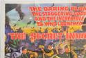 THE SECRET INVASION (Top Left) Cinema Quad Movie Poster