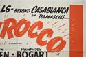 SIROCCO (Top Right) Cinema Quad Movie Poster