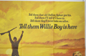 TELL THEM WILLIE BOY IS HERE (Top Right) Cinema Quad Movie Poster