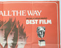 CHARIOTS OF FIRE (Top Right) Cinema Quad Movie Poster