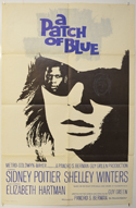 A PATCH OF BLUE Cinema One Sheet Movie Poster
