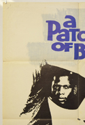A PATCH OF BLUE (Top Left) Cinema One Sheet Movie Poster