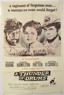 A THUNDER OF DRUMS Cinema One Sheet Movie Poster