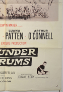 A THUNDER OF DRUMS (Bottom Left) Cinema One Sheet Movie Poster