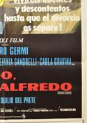 ALFREDO, ALFREDO (Bottom Right) Cinema One Sheet Movie Poster