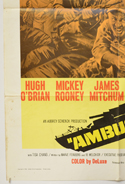 AMBUSH BAY (Bottom Left) Cinema One Sheet Movie Poster