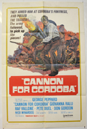 CANNON FOR CORDOBA Cinema One Sheet Movie Poster