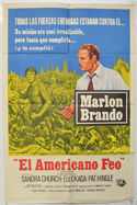 Ugly American (The) <p><i> Spanish One Sheet Poster </i></p>