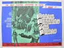 BATTLE BENEATH THE EARTH Cinema Quad Movie Poster