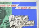 BATTLE BENEATH THE EARTH (Top Right) Cinema Quad Movie Poster