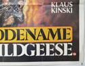 CODENAME WILDGEESE (Bottom Right) Cinema Quad Movie Poster