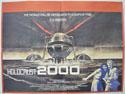 HOLOCAUST 2000 Cinema Quad Movie Poster