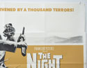 THE NIGHT OF THE GRIZZLY (Top Right) Cinema Quad Movie Poster