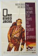 ONE-EYED JACKS Cinema One Sheet Movie Poster