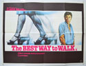 THE BEST WAY TO WALK Cinema Quad Movie Poster