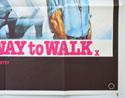 THE BEST WAY TO WALK (Bottom Right) Cinema Quad Movie Poster