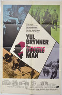 THE DOUBLE MAN Cinema One Sheet Movie Poster