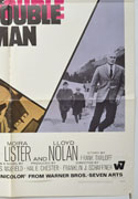 THE DOUBLE MAN (Bottom Right) Cinema One Sheet Movie Poster