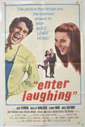 ENTER LAUGHING Cinema One Sheet Movie Poster