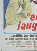 ENTER LAUGHING (Bottom Left) Cinema One Sheet Movie Poster