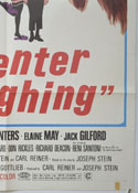 ENTER LAUGHING (Bottom Right) Cinema One Sheet Movie Poster