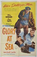 GLORY AT SEA Cinema One Sheet Movie Poster