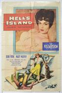 HELL'S ISLAND Cinema One Sheet Movie Poster