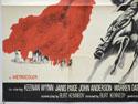 KILLER ON A HORSE (Bottom Left) Cinema Quad Movie Poster