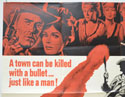 KILLER ON A HORSE (Top Left) Cinema Quad Movie Poster