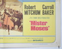 MISTER MOSES (Bottom Right) Cinema Half Sheet Movie Poster