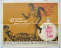 NINE HOURS TO RAMA Cinema Half Sheet Movie Poster