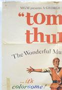 TOM THUMB (Top Left) Cinema One Sheet Movie Poster