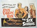 RUN VIRGIN RUN - THE SEX SEEKERS Cinema Quad Movie Poster