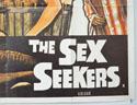 RUN VIRGIN RUN - THE SEX SEEKERS (Bottom Right) Cinema Quad Movie Poster