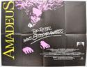 AMADEUS Cinema Quad Movie Poster