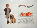 ANNIE Cinema Quad Movie Poster