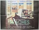 BEACHES Cinema Quad Movie Poster
