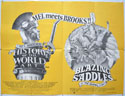 History Of The World Part 1 / Blazing Saddles <p><i> (Double Bill) </i></p>