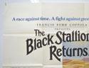 THE BLACK STALLION RETURNS (Top Left) Cinema Quad Movie Poster