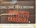THE FOURTH PROTOCOL (Bottom Right) Cinema Quad Movie Poster