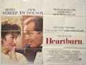 HEARTBURN Cinema Quad Movie Poster
